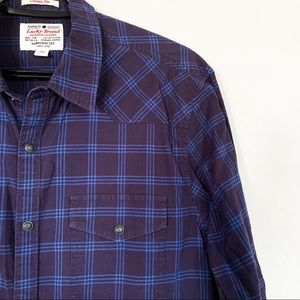 Lucky Brand • Casual Fit Button Down